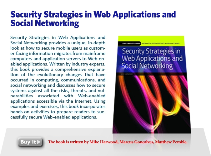 3. Security Strategies in Web Applications and Social Networking